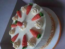 Genovesa, Tortas frías, de Zanahoria, Chocolate y más!