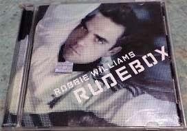 Robbie Williams Rudebox. Cd original. Incluye libro interno con letras