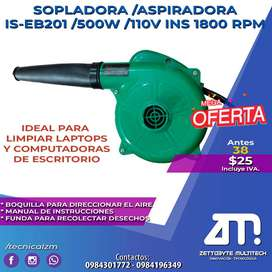 SE VENDE SOPLADORA/ASPIRADOA IS-EB201/500W/110V