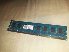 Ram Ddr3 4gb 1600 semi nueva