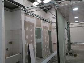 Soy instalador de techos en pvc y drewooll estuco y pintura de casas o apartamentos dentro y fuera de Bogotá honesto