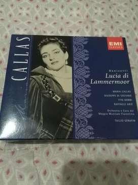 Cd Doble Maria Callas . Donizetti Lucia di Lammermoor Opera