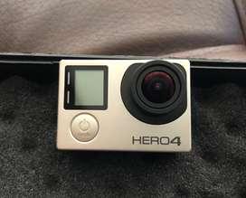 Vendo GoPro hero 4 10/10 + accesorios