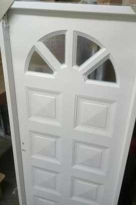 LIQUIDO puertas entrada chapa simple NUEVAS  80X200