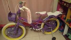 Vendo bicicleta nena rodado 20