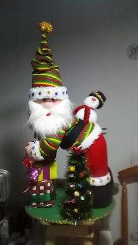Hermosos muñecos navideños