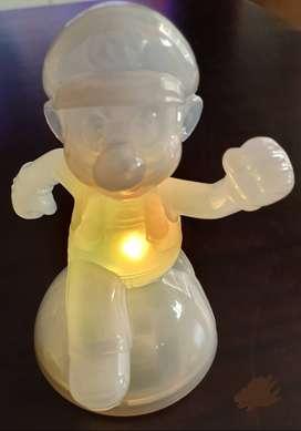 Muñecos Plastico Moviles Con Luz Mario Bros. Mc Donalds ASP