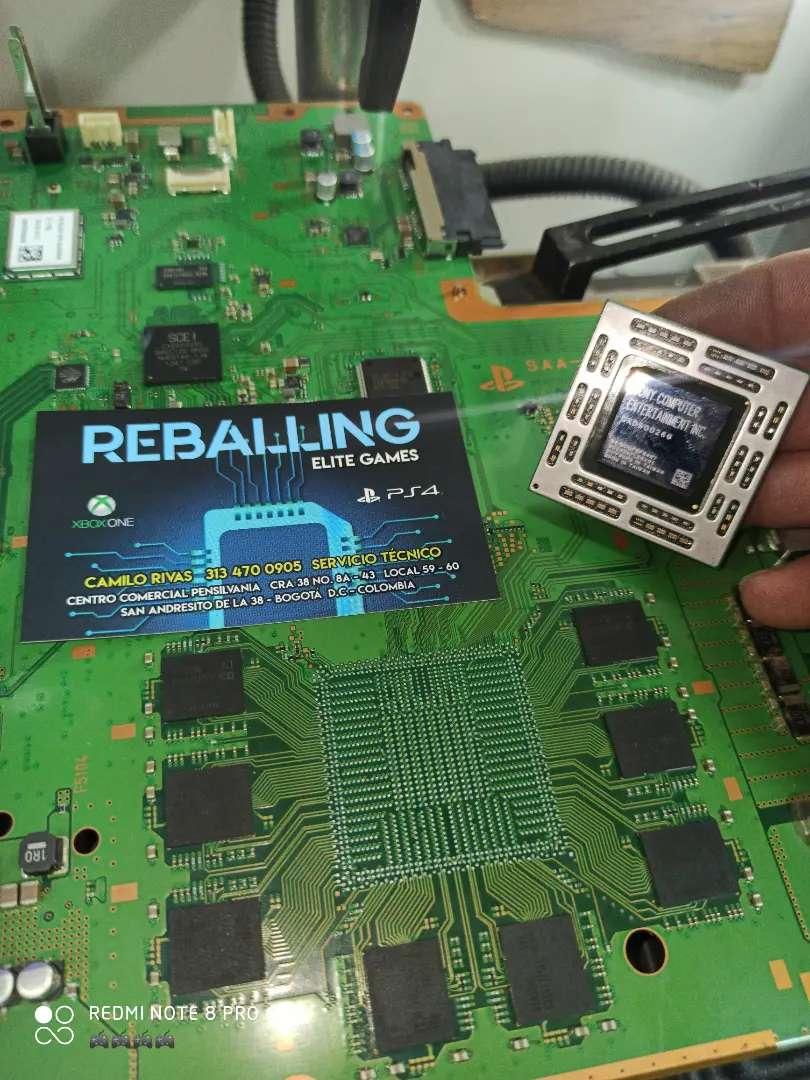 Reballing Xbox/PS3/PS4 profesional
