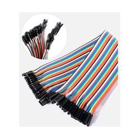 Cables Dupont De 20 cm Terminal Hembra Hembra - Tectronixs