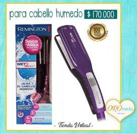 plancha Remington cabello húmedo original Nueva
