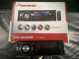 Radio Pioner Dvh-865avbt Pantalla, Bluetooth, Puerto Usb