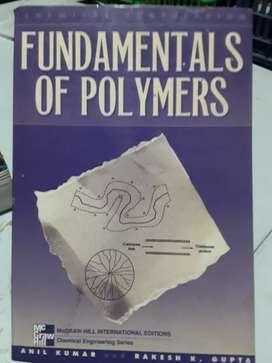 Fundamentos de polímeros anil kumar editorial mcgraw Hill en inglés buen estado