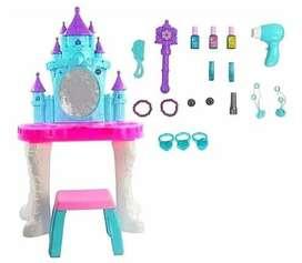 Tocador Vanity Infantil Completa Luz Sonido Juguete Niñas