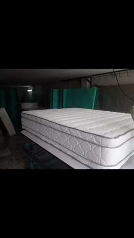 Colchon doble pillow 140x190 fabrica
