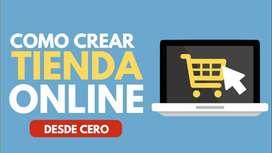 aprenda cómo crear una tienda online profesional, 8 horas