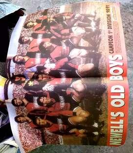 Revista solofútbol newells 1991 campeón