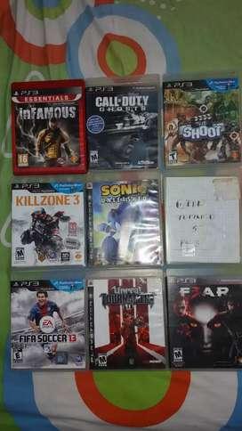 Juegos para play3 y play4