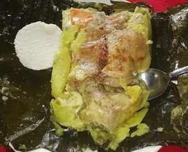 Tamales Chorizos Rellena