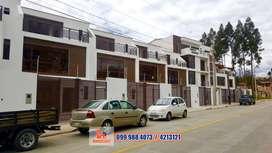 Casa por estrenar de venta, parque lineal Machángara, Cuenca, C437
