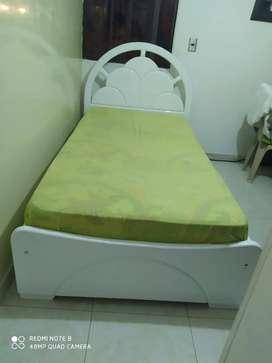 Se vende cama con cajones, en cedro, pintura en poliuretano (pintura de autos alta duración)