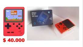 Gameboy, Consola, mini Consola retro, videojuego retro 400 juegos.