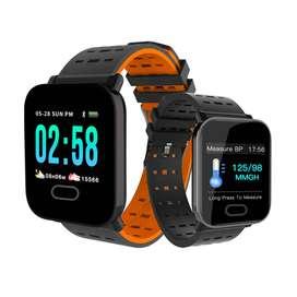 Reloj Smartband A6 Notificacion Inteligente Impermeable Ip67