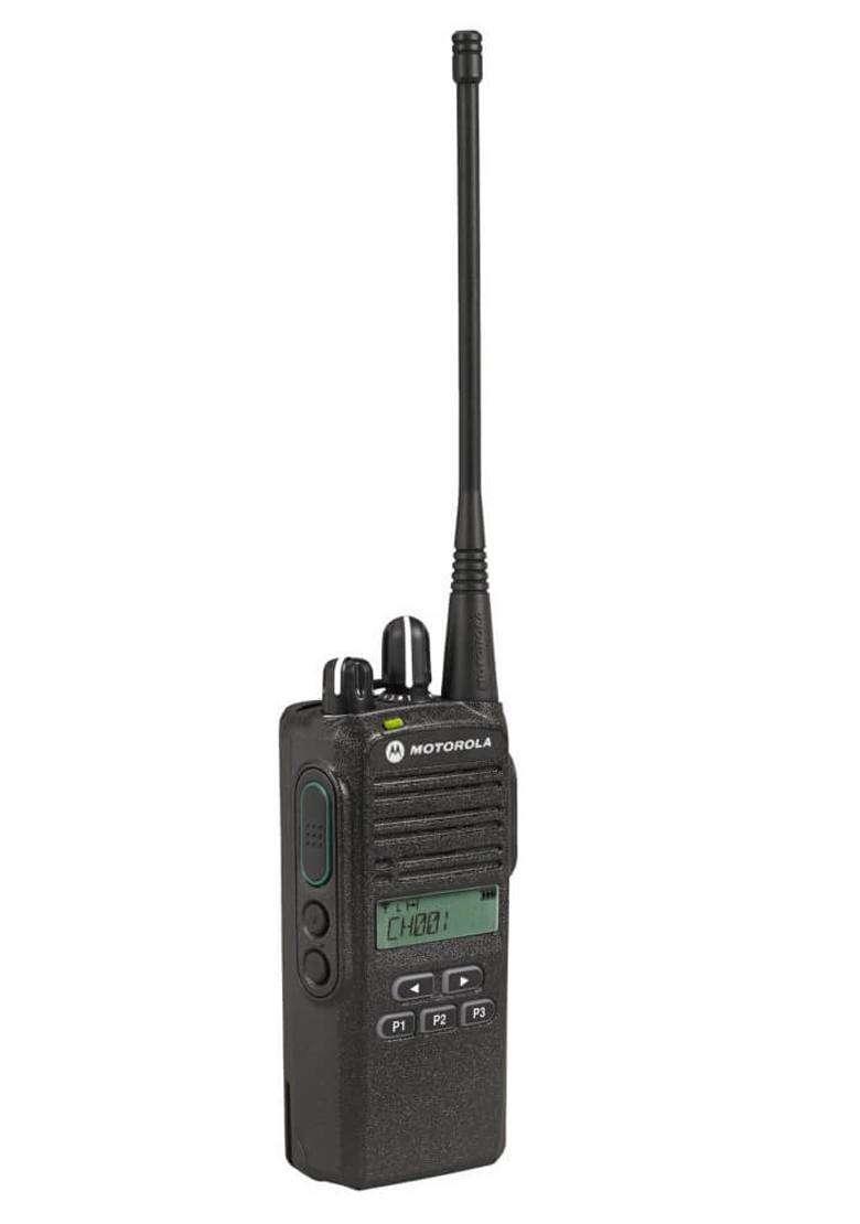 Radio Portatil Motorola De Dos Vias Con Pantalla EP350MX VHF o UHF