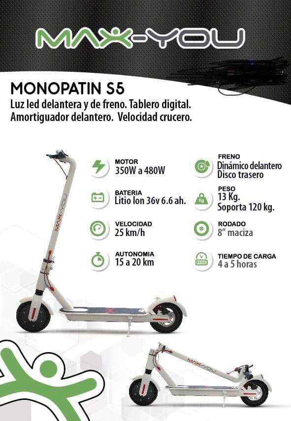 Monopatin Electricos Max You S1 0