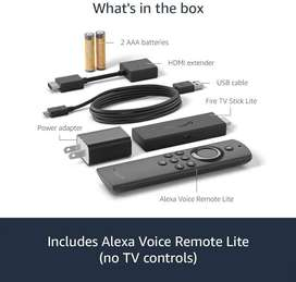 Amazon Fire TV Stick Lite con Alexa Control por voz