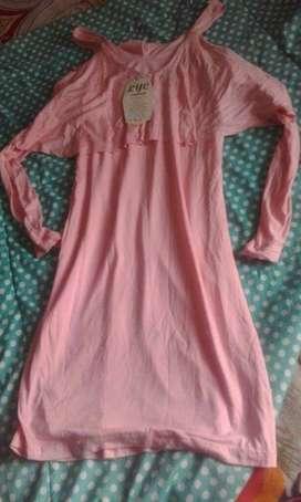 Lindo Vestido Color Rosa Nuevo