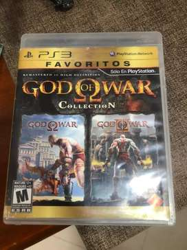 Juego pS3 GodOf war Collection