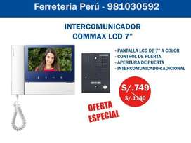 COMMAX INTERCOMUNICADOR PANTALLA LCD A COLORES