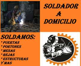 SOLDADURA PARA METAL Y ACERO A DOMICILIO