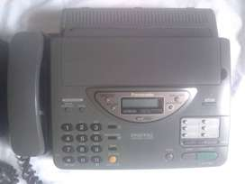 Líquido .Teléfono fax digital panasonic