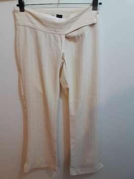 Pantalón de vestir color manteca. Talle 2. Alma
