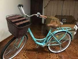 Bicicleta estilo vintage - mujer / Aro de 26