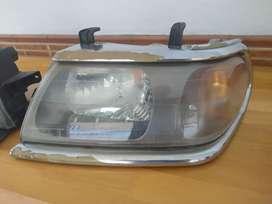 Farolas y persiana Mitsubishi Nativa