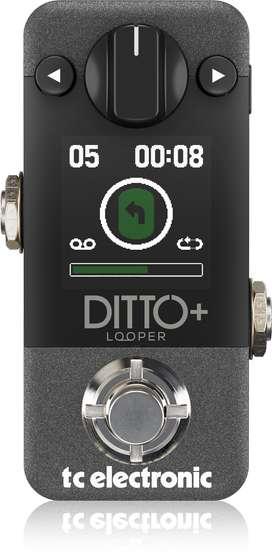 Ditto+ Looper Looper Pedal De Efectos Tc Electronics