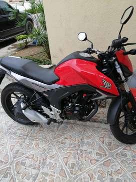 Venta moto nueva honda cb160f