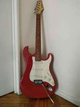 Suzuki Stratocaster Fiesta Red - Igual a nueva