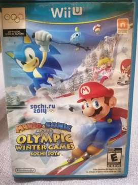 Nintendo WII U - Video juego MARIO & SONIC AT THE OLYMPIC WINTER GAME SPCHI 2014
