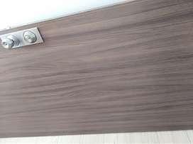Puerta doble chapa madera