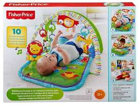 Fisher Price Gimnasio Musical 3 En 1 Interactivo Para Bebés
