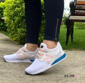 Zapato Tennis Deportivo New Balance Para Dama