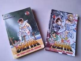 Manga de Saint Seiya, caballeros del zodiaco, vol 5 y 6.