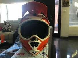 Casco de motocross para niños