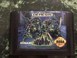 Tortugas ninja sega genesis dreamcast snes nes atari wii wiiu n64 3ds gamecube neogeo 3do ps3