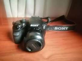 Cámara Profesional Sony A 3000 + Lente- Ilce 3000k