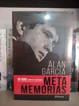 Metamemorias Alan García Libro