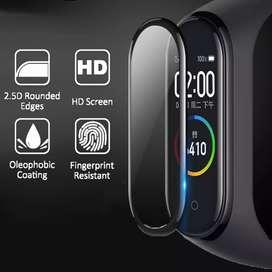 Mica de vidrio suave protector de pantalla para Xiaomi Mi Band 4